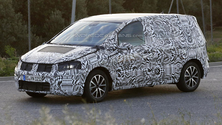 Volkswagen Touran shows its familiar shape in new spy photos