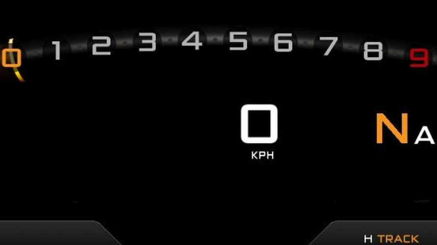 McLaren P1 digital dash revealed - production version confirmed for Geneva debut [video]