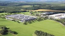 Daimler battery factory in Kamenz