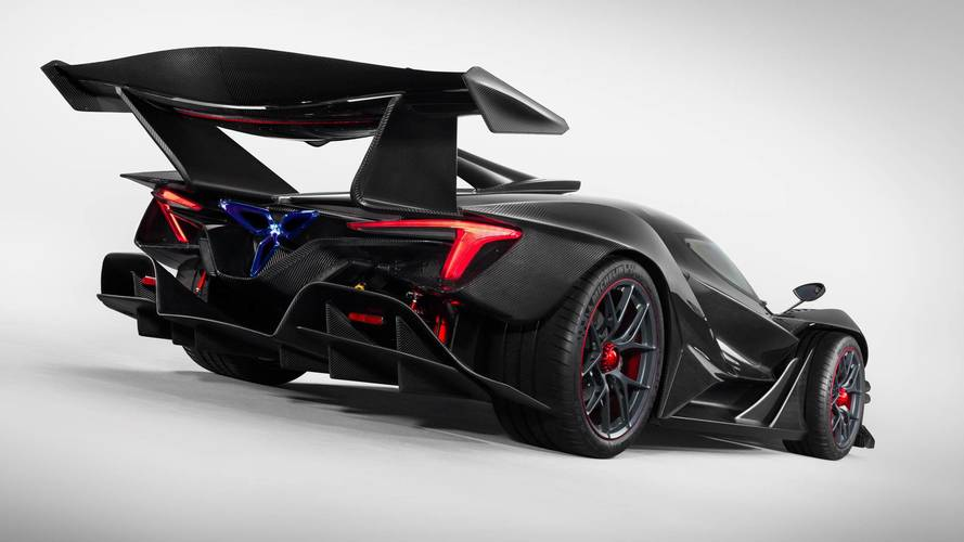 Apollo IE hypercar spotted on the road for the first time