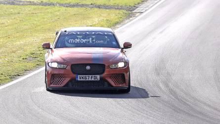 VIDÉO - La Jaguar XE SV Project 8 encore surprise sur le Nürb', record en vue ?