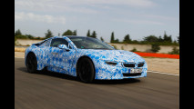 BMW i8, le foto dei test