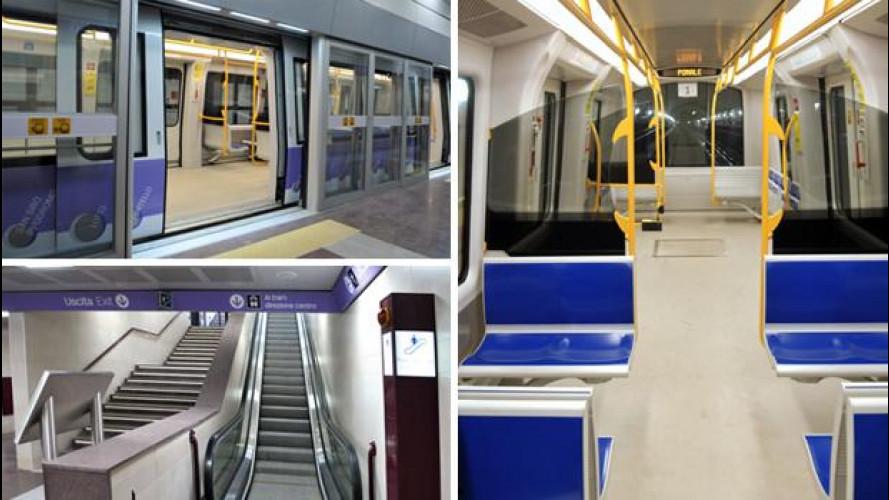 Milano: Domenica apre la nuova Metro lilla, la M5