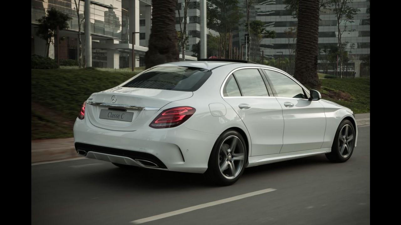 Mercedes apresentará nova geração do Classe C Coupé em setembro