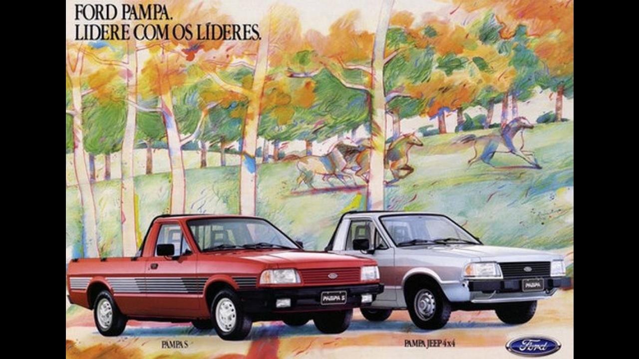 Carros para sempre: Ford Pampa liderou segmento e marcou época com tração 4x4