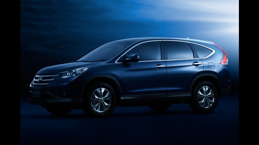 Novo CR-V 2012 aparece em primeiras imagens oficiais no site da Honda no Japão