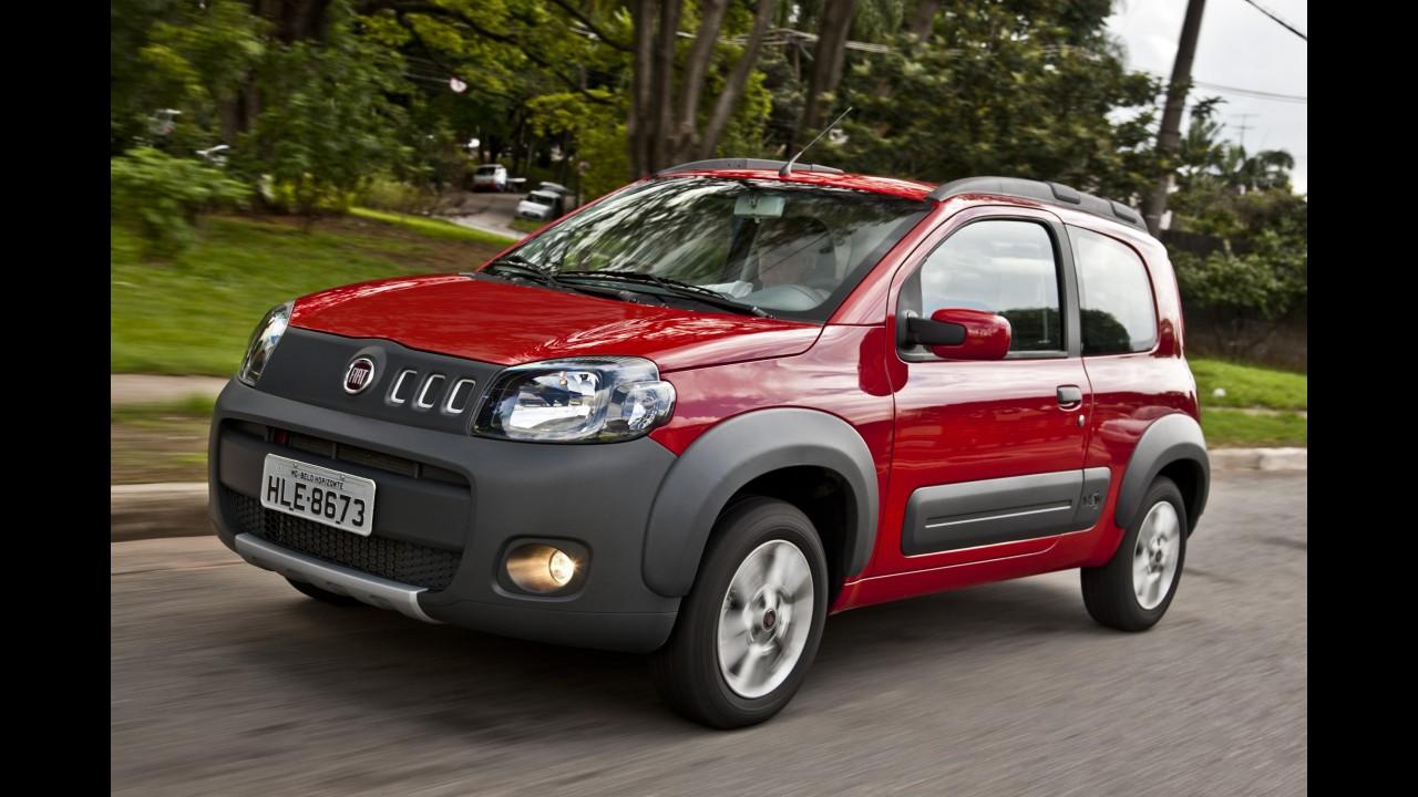 Fiat: Uno Way 1.4 e Sporting ganharão freios ABS e airbag duplo de série na linha 2013