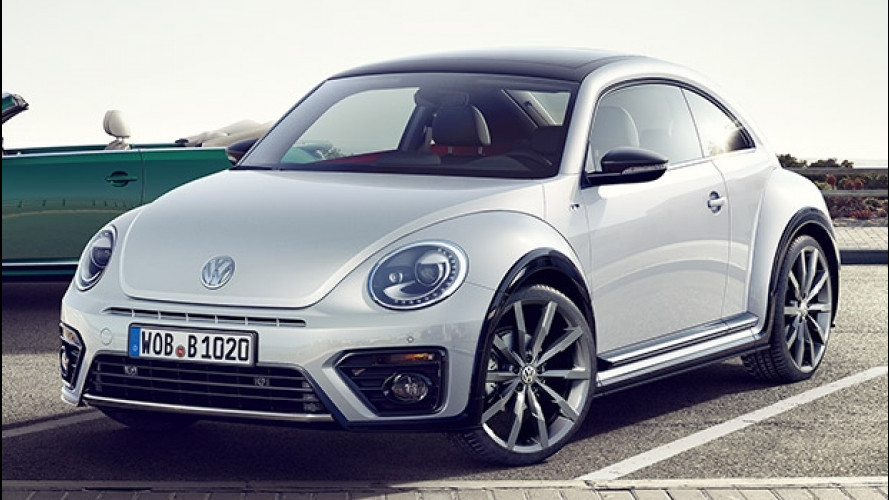 Volkswagen Maggiolino restyling, quella grinta in più
