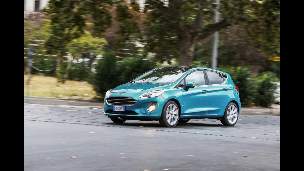 Nuova Ford Fiesta, la prova dell'abitacolo