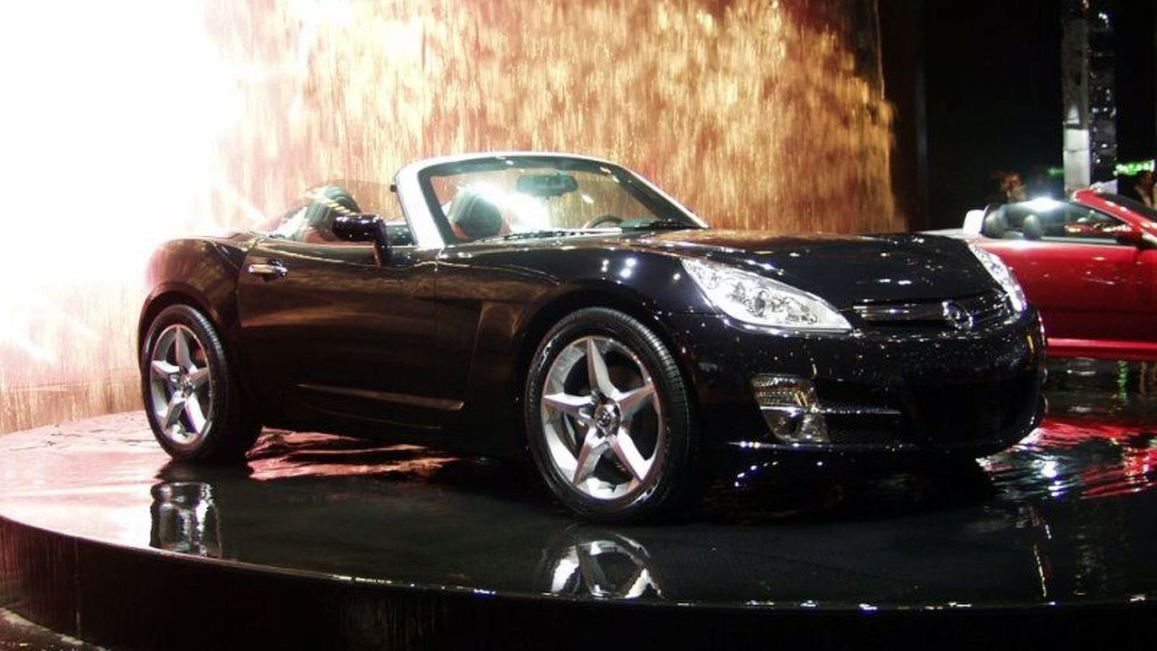 New Opel GT at Geneva