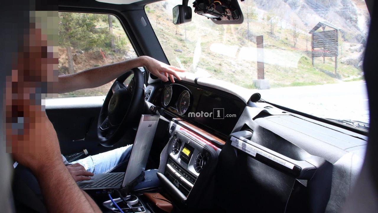 2018 Mercedes Amg G63 Spy Photo