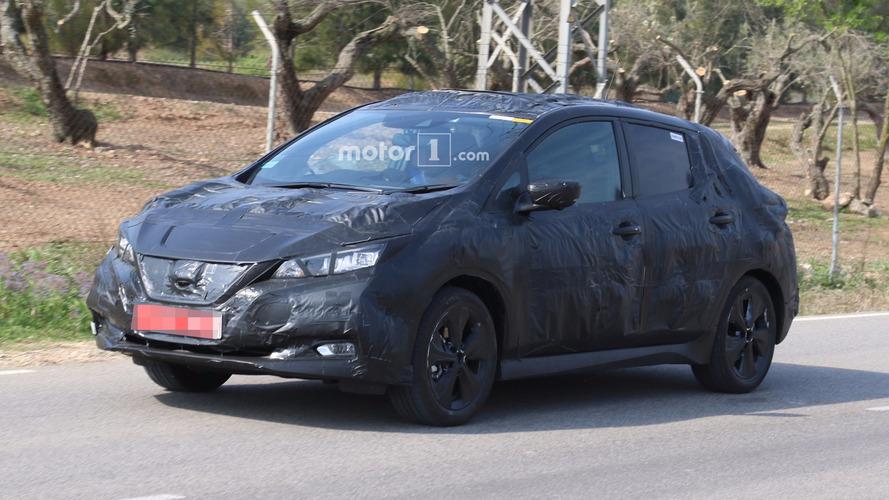 Flagra! - Nissan Leaf de segunda geração promete visual mais atrativo