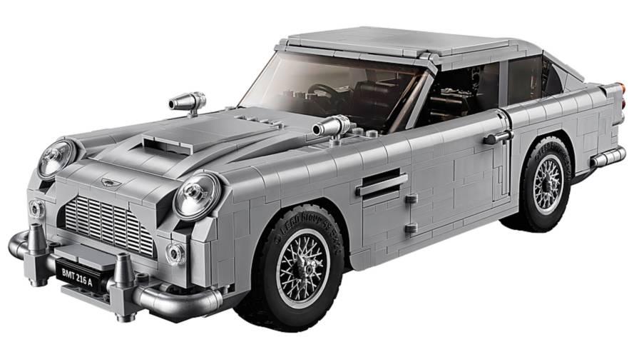 Lego James Bond Aston Martin DB5 Revealed