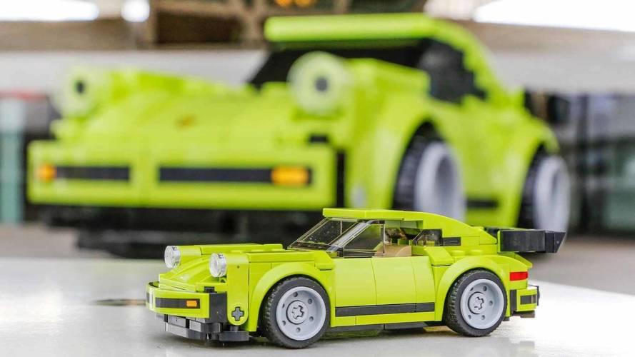 1:1 méretarányú Porsche 911 Turbo