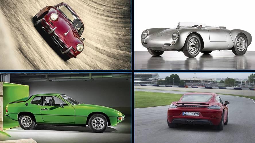 Galería de fotos: deportivos Porsche con motor de cuatro cilindros