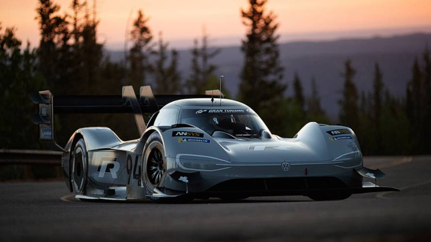 "VW Specifically Goes With ""94"" Number For I.D. R Pikes Peak"