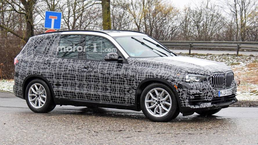 BMW X5 Spied In Less Camo