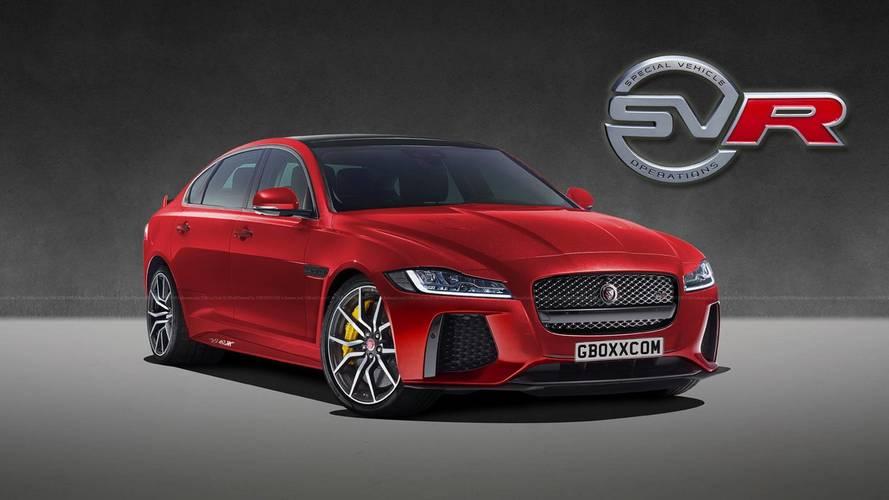 Design - Voici à quoi pourrait ressembler la Jaguar XF SVR