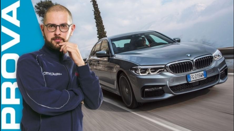 BMW Serie 5, se la berlina torna uno status [VIDEO]