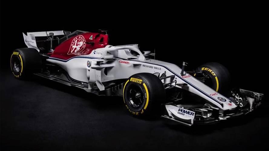 F1 2018: Sauber reveals new Alfa Romeo-backed C37