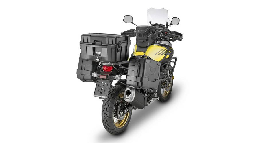 Kappa lanza la línea de equipaje para motos KGR Garda Black