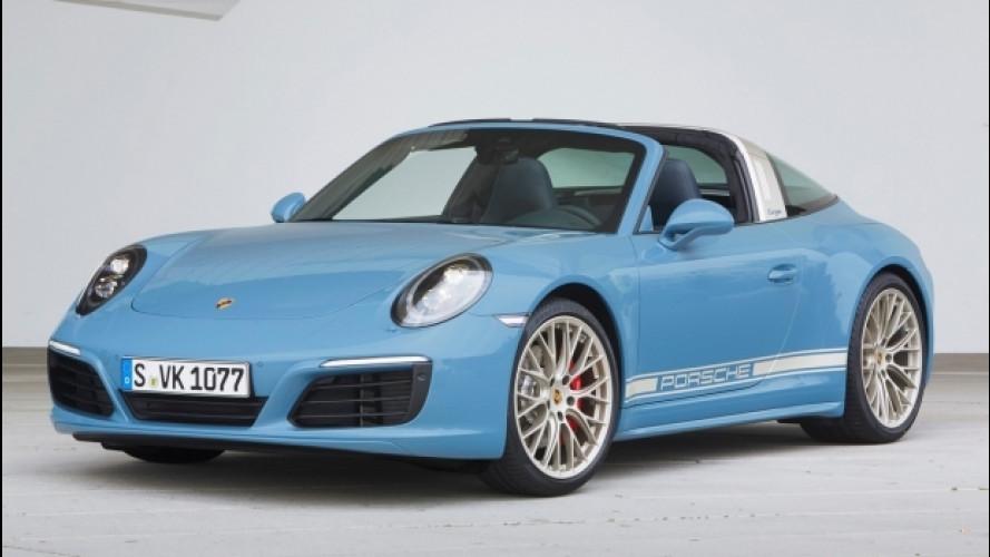 "Porsche 911 Targa 4S Exclusive Design, omaggio ai ""Seventies"""