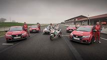 Honda Civic Type R race