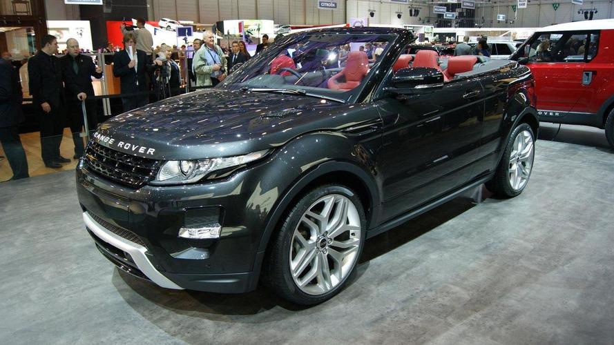 Range Rover Evoque Cabrio still considered, decision coming very soon