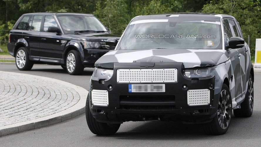 Range Rover Sport spied [video]