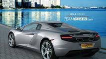 McLaren MP4-12C Spider artists rendering