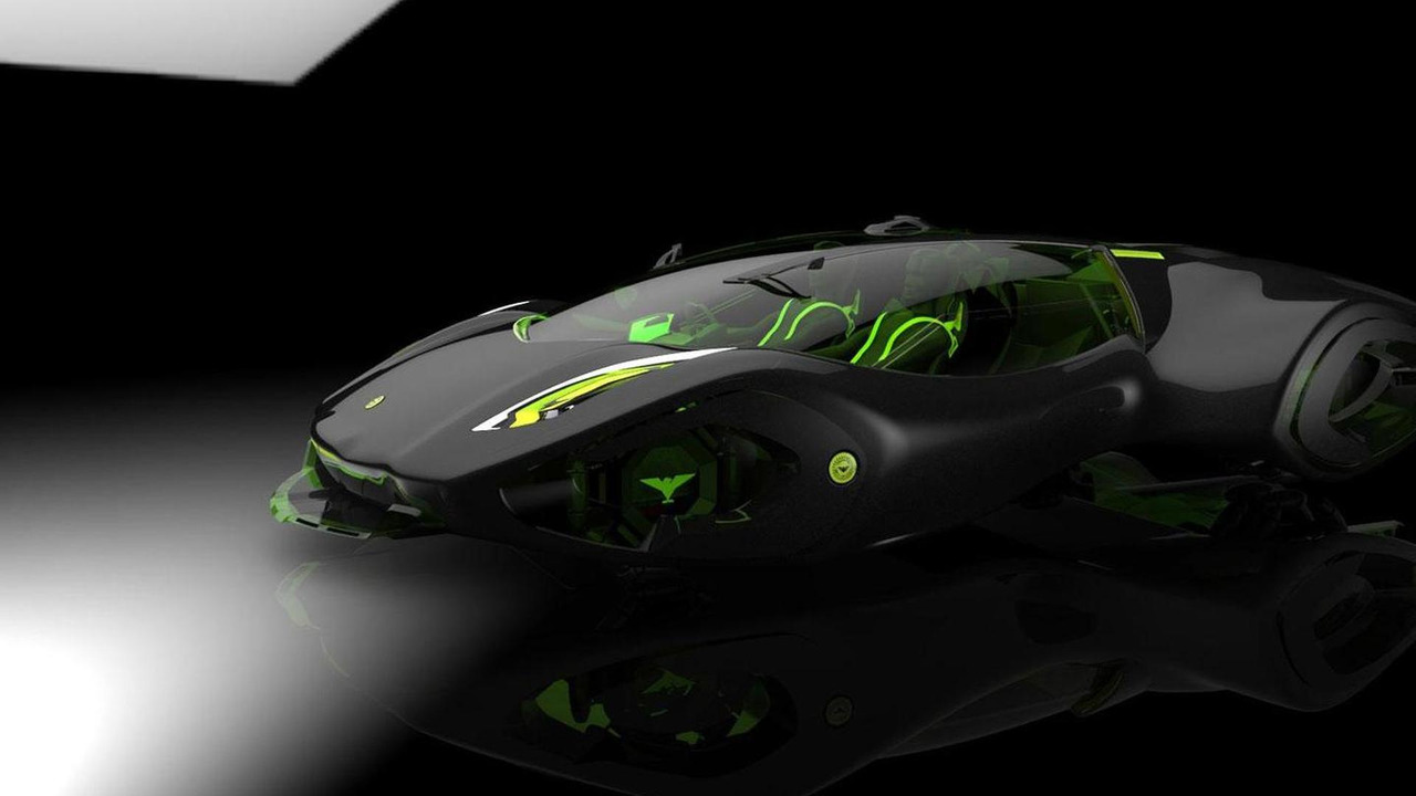 Bizzarrini Veleno Biohydrogen Supercar For Conceptualized