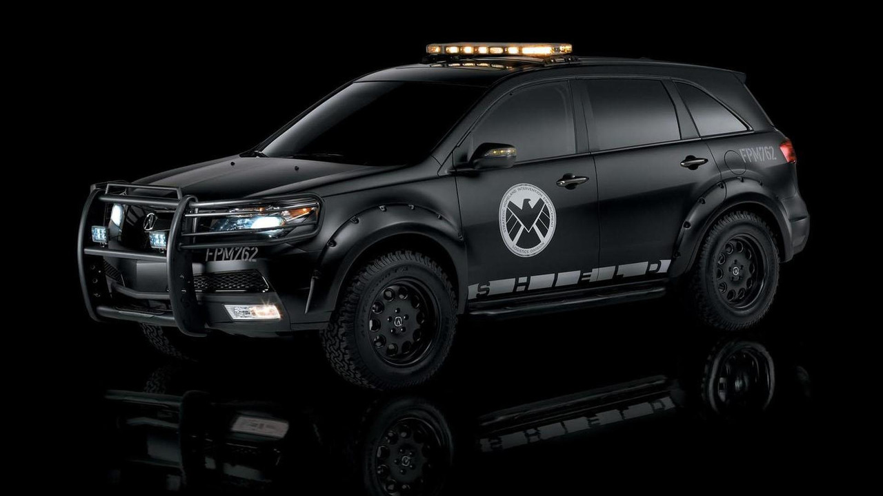 Acura MDX Roadster for The Avengers 05.4.2012