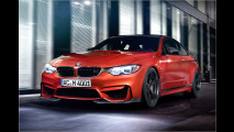 Ein BMW M4, der sanft untersteuert