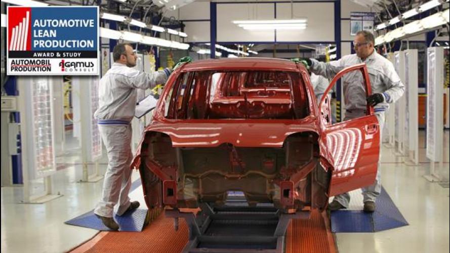 Alla Fiat di Pomigliano il premio Automotive Lean Production Award 2012