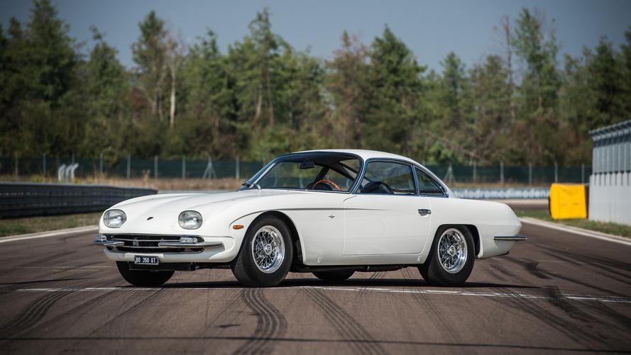 1964 Lamborghini 350 GT yeniden doğdu