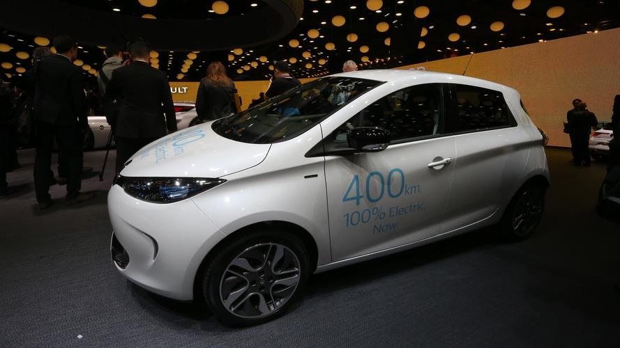 2016 Renault Zoé Z.E. 40 - Paris Motor Show
