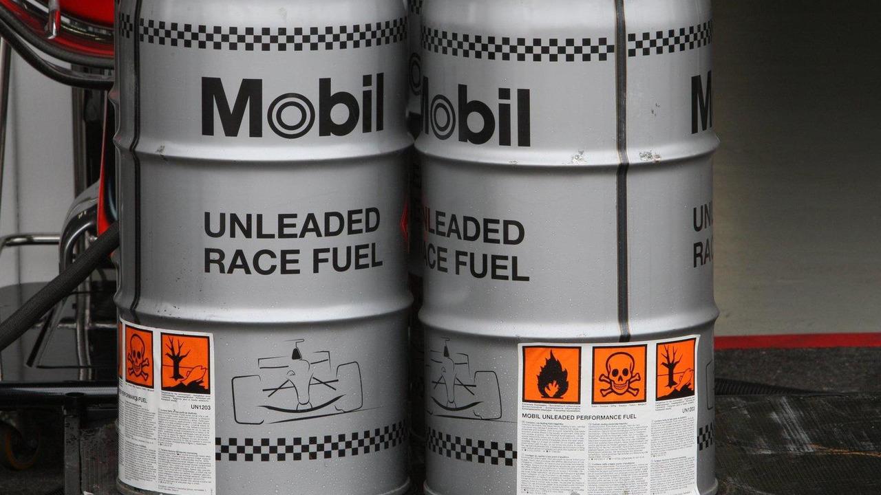 McLaren Mercedes Mobil 1 Race Fuel 17.07.2008 German Grand Prix