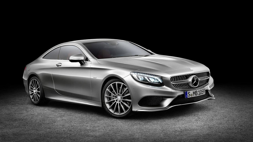 Mercedes-Benz S-Class Coupe revealed with curve tilting function, headlights with Swarovski crystals