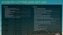 Scion FR-S Steve Aoki Art Car  31.10.2013