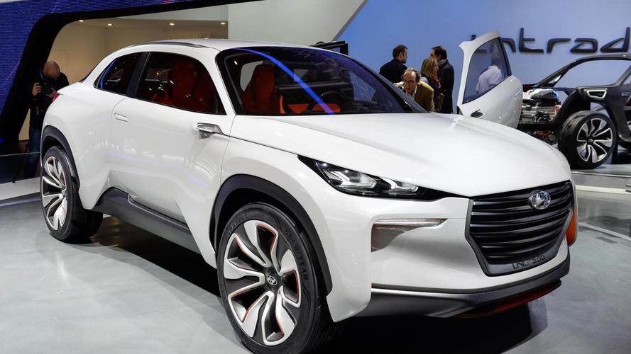 Hyundai Intrado Concept graces Geneva - hints new compact crossover
