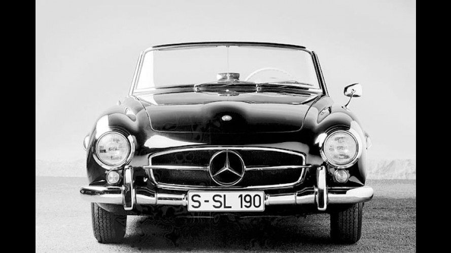 Hut ab zur Stern-Fahrt: 50 Jahre Mercedes-Roadster