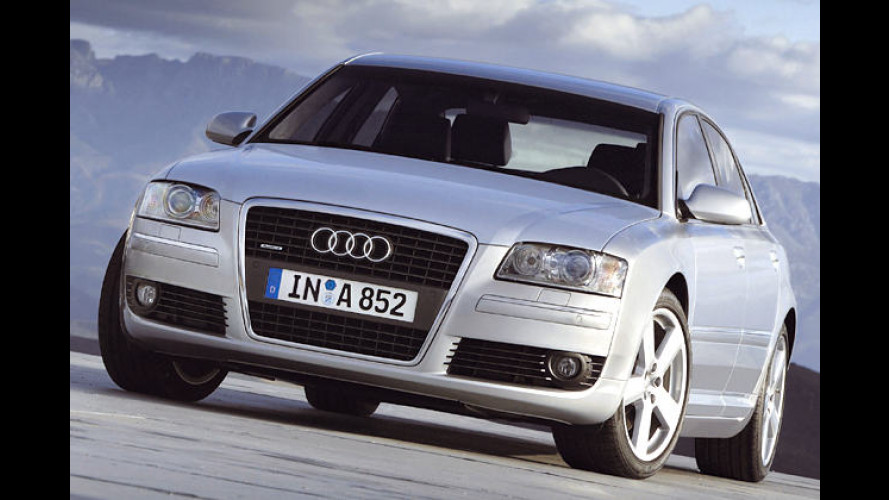Single mit 260 PS: Neuer 3.2 FSI im Audi A8