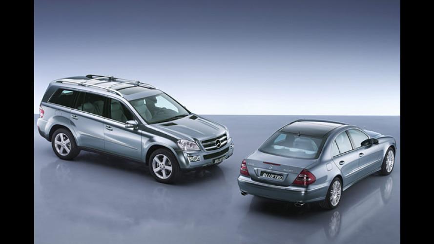 Mercedes Bluetec: So wird der Diesel wirklich sauber