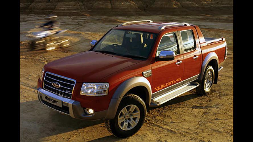 Ford Ranger Wildtrak: Gelände-Pick-up mit neuem Diesel