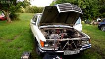Mercedes-Benz W116 Start-Up