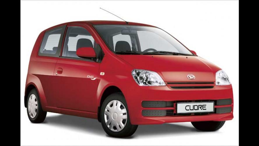 Daihatsu Chili: Extra gewürzter Cuore zum scharfen Preis