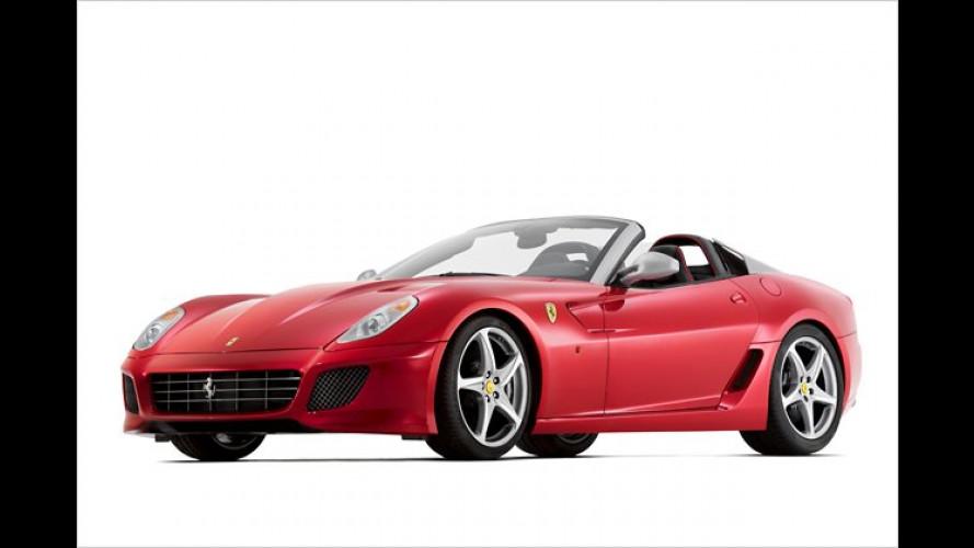 Pininfarina-Hommage zum 80sten: Ferrari SA Aperta