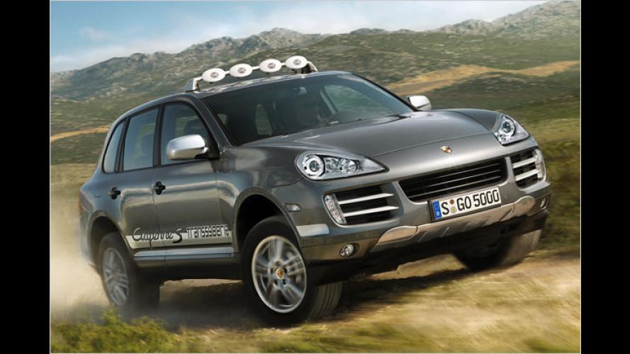 Rallye-Feeling: Porsche Cayenne S im Transsyberia-Stil