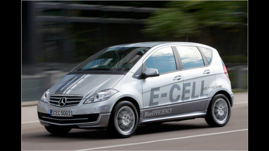 Baby-Benz fährt rein elektrisch: Mercedes A-Klasse E-Cell
