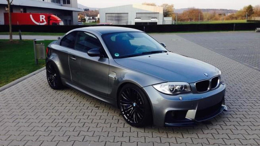 BMW 118d turned into a 555 bhp 1M CSL